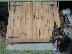 Wooden Bilco Doors