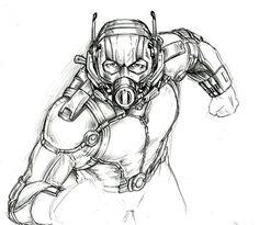 Ant-Man .... T.E.P. by Lengsel-Archetype
