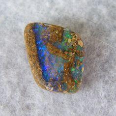 Pretty Australian Pipe Boulder Opal by opalendeavours on Etsy, $33.00