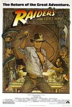 Raiders of the Lost Ark (1981) In 1936, professor of archeology  Indiana Jones is venturing in the jungles in South America searching for a golden statue. Then, Jones hears from a museum curator Marcus Brody about a biblical artifact called The Ark of the Covenant, which can hold the key to humanly existence. Jones has to venture to vast places such as Nepal and Egypt to find this artifact. He will have to fight a band of Nazis in order to reach it.