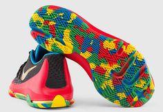 Nike KD 8 Black/Multicolor