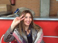 Raquel García. Mis #dedosvacios los uso para jugar a piedra, papel o tijera.