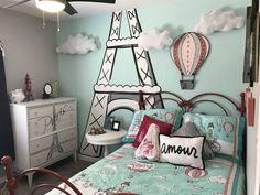 Decoración París. Habitación juvenil Paris.