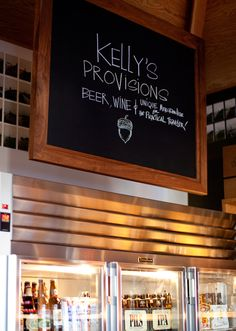 Kelly's Fuel + Provisions, Yountville, CA    photo credit: Nicole McIntosh Bruce