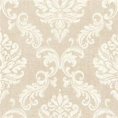 450-67359 Gold Damask - Sebastion - Beacon House Wallpaper