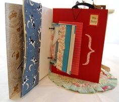 Vintage Little Golden Book Upcycled Little Golden by MadeOfFlaws