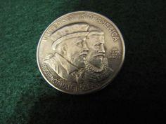 1924 HUGUENOT-WALOON TERCENTENNIAL COMMEMORATIVE  HALF DOLLAR  UNGRADED