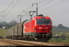 RailPictures.Net Photo: CP 4721 REFER SIEMENS 4700 at Valdoeiro, Portugal by Vitor