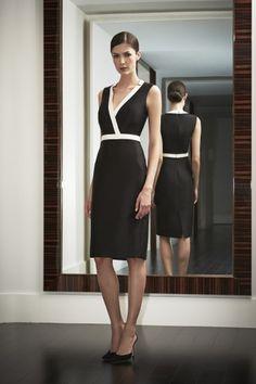 Carolina Herrera, The Night Collection. So simple but so elegant.