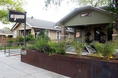 Heywood Hotel is anboutique hotel located on E. Cesar Chavez owned by Kathy Setzer and George Reynolds. The hotel has two floors, seven rooms, upper deck patio and even a parking garage.