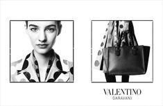 awesome Valentino F/W 2014.15 | Ine Neefs, Josephine van Delden & Mais por David Bailey  [Campaign]
