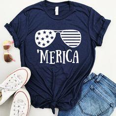 1cfbe96e0e92d Women s 4th of July Shirt - Merica Shirt - Star Spangled Hammered - Fourth  of July Shirt - Patriotic Shirt - Gun Flag Shirt - Flag Shirt