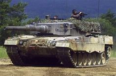 German Leopard II tank