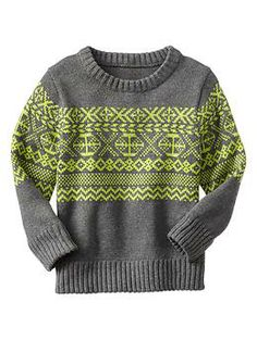 Fair Isle sweater | Gap
