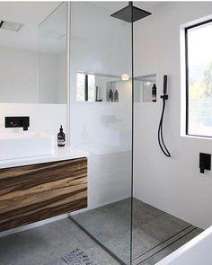 Shower Recess – Tips and Tricks – Small Bathroom Renovations Perth – Small Bathrooms WA Specialists Bathroom Renos, Laundry In Bathroom, Budget Bathroom, Bathroom Renovations, Master Bathroom, Bathroom Ideas, Rain Shower Bathroom, Bathroom Tapware, Remodel Bathroom