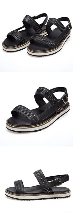 """African American Shoelace Together New Sandals Summer The New Style Of Men's Fashion Casual Sandals """"Cork Pitching Wedges Flip Flops, Gold Heeled Sandals"""" Summer The New Style Of Men's Fashion Casual Sandals."""