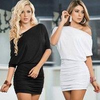Fabric:Milk Silk / polyvinyl chloride Color:  white;black (as the photo) Quantity:1pcs dress Size de