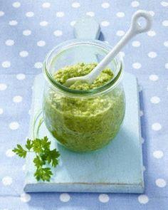 Das Rezept für Grünes Spargel-Pesto und weitere kostenlose Rezepte auf LECKER.de