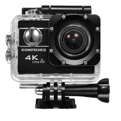 Action Camera for Sports Photography   UHD 4K/24fps, 1080P/60fps, IMX078 Sensor, 70-170 Wide Angle Lens, Waterproof up to 30m by ICONNTECHS IT ** Find out more about the great product at the image link. (This is an Amazon Affiliate link and I receive a commission for the sales)