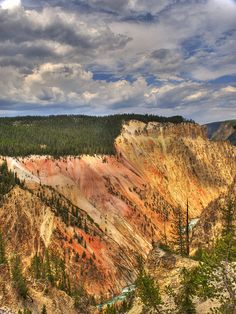 """""""The Grand Canyon of the Yellowstone,"""" located in the Montana section of  Yellowstone National Park. Photo: Steven Berry via Flickr"""