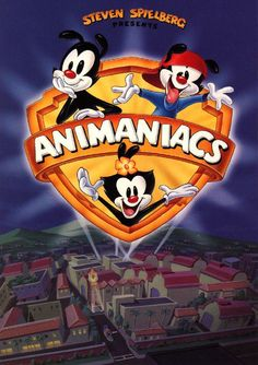 Animaniacs - Three cartoon characters that were locked up in the Warner Brothers Movie Lot's Water Tower since the 1930's, escape in the 1990's, and cause havoc/slapstick and mock Hollywood personalities. Other shows within this show existed as well, most notably Pinky and the Brain. They were two lab mice that secretly wanted to take over and control Earth.