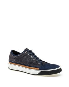 Lanvin - Python Leather Low Sneaker - £455