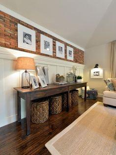 31 Comfortable And Modern Mid Century Living Room Design Ideas - Mimicrop Decor, Interior, Long Narrow Living Room, Home Decor, Long Living Room, House Interior, Living Room Wall, Living Decor, Home And Living