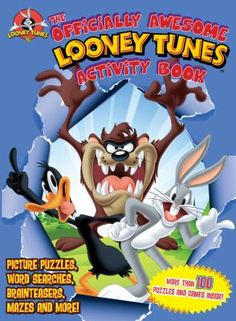 The Officially Awesome Looney Tunes Activity Book by Time Home Entertainment