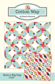Kate's Big Day Quilt Pattern by Cotton Way by avintagefairytale, $8.75