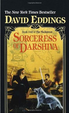 Sorceress of Darshiva (The Malloreon, Book 4) by David Eddings http://www.amazon.com/dp/0345369351/ref=cm_sw_r_pi_dp_d5ILtb1CNA3YB3SC