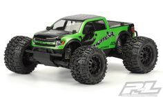 Pro-Line has developed the ultimate licensed bashing body specifically made for Pro-Line's PRO-MT – the Ford F-150 SVT Raptor! #prolineracing #promt #ford #builtfordtough #raptor