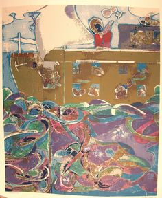Romare Bearden, Noah, The Third Day (Prevalence of Ritual Series), 1974 Serigraph 36 × 30 in African American Artwork, Romare Bearden, Art Gallery, Tumblr, Third, Day, Artist, Painting, Galleries