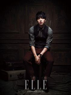 Song Joong Ki - Elle Magazine September Issue '12