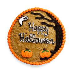 Celebrate Halloween in Sweet Frosting with this Spooky Halloween Scene Cookie Ca. Halloween Desserts, Postres Halloween, Halloween Cookies, Halloween Treats, Birthday Cake Cookies, Cupcake Cookies, Pizza Cookies, Cookie Pizza, Birthday Cakes