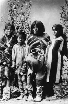 An Apache family in winter :: Photographs - Western History