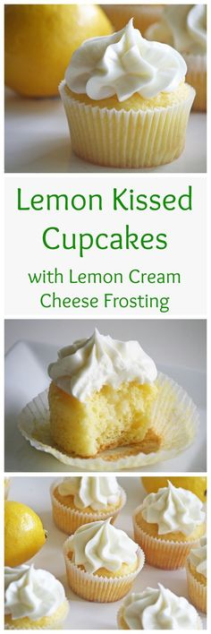 Lemon Kissed Cupcake