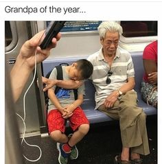 Grandparents are the bestdon't argue me on this They are also twice as cool as you will ever be! So how many likes can this Grandpa get?  #grandpa #grandma #grandpalove #grandparents #lovethem #theyarethebest #therealmvp #ohjesus #bythebible #grandpaoftheyear #instagrandpa #cantbeatit