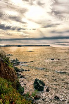 Landscape Photography Romantic Dreamy Ocean View by AsqewCreative