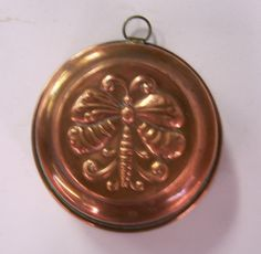 Vintage copper mold  butterfly  made in Sweden by TsVintageWares, $8.99