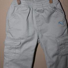 Puma cargo pants, 0-6 months
