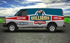 LHF Pipeline™: Font includes 2 versions: Regular and Inline. Perfect for modern designs. Artwork courtesy of Graphic D-Signs in Washington, NJ. Van Signage, Van Design, Logo Design, Graphic Design, Truck Lettering, Vehicle Signage, Utility Truck, Eco Friendly Cars, Van Wrap