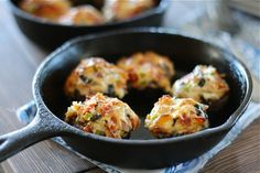 Pizza Stuffed Mushrooms Final 2 by laurenslatest, via Flickr