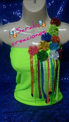 Blusa decorada Gs World, World Thinking Day, Halloween Fun, Sweet 16, Headpiece, Crochet, Diy, Ideas, Fashion