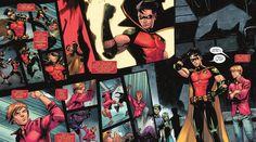 Batman Sidekicks, Dc Comics, Robin Tim Drake, Tim Drake Batman, Maggie Sawyer, Batman Story, Out Of The Closet, Urban Legends, Batman Robin