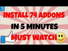 KODI ADDONS 2016 - How to install 74 of them in under 5 Minutes - YouTube Kodi Android, Android Box, Kodi Amazon Fire, Kodi Streaming, Windows 10 Hacks, Kodi Box, Kodi Builds, Cable Companies, Evil Geniuses