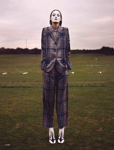 Franziska Müller by Paul Empson for Exit Magazine Summer 2012 — golfing, obvs.