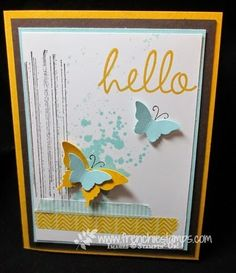 The Serene Stamper: Hello Butterfly!