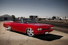 Old school Chevrolet Impala SS