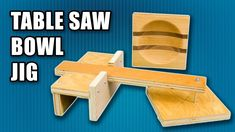 How to a Make Table Saw Bowl Jig - Make a Wood Bowl