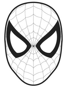 spiderman face logo spiderman mask clipart 23427wall jpg ollie s rh pinterest com